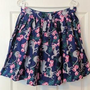 Unique Vintage Skirts - Unique Vintage Dinosaur Skirt